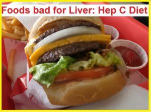 foods bad for liver and hepatitis C